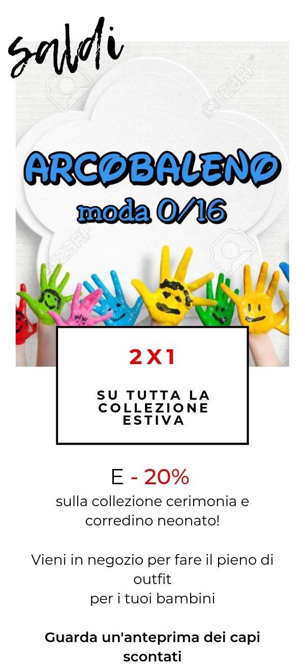 brand new a18eb 646f6 Abbigliamento Arcobaleno Sestu - Moda Bimbi Ragazzi da 0 a ...